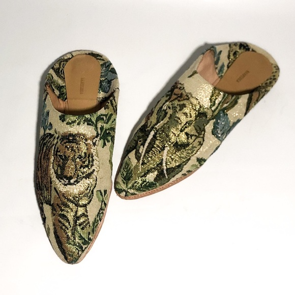 312829929b04 Nanushka Babouche Asia Slipper in Jungle Tapestry.  M_5c7876b8819e90632333b640